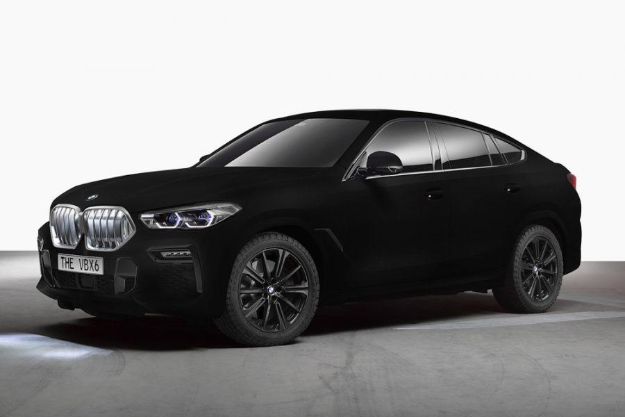 Yeni BMW X6 Vantablack Özellikleri!