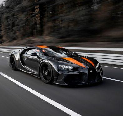 Bugatti Chiron Michelin İle Hız Rekoru Kırdı
