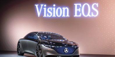 Mercedes BenzVision EQS Tanıtıldı.
