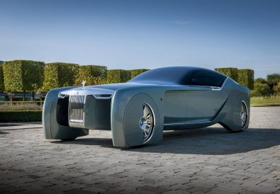 Rolls-Royce 103EX Tasarım Detayları.