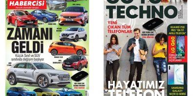Turkcell Dergilik Araba Habercisi Eylül Sayısı