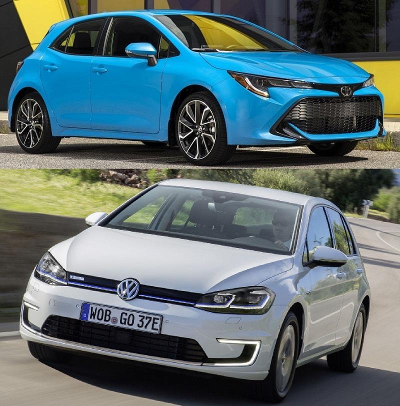 Volkswagen Golf Toyota Corolla Karşılaştırması
