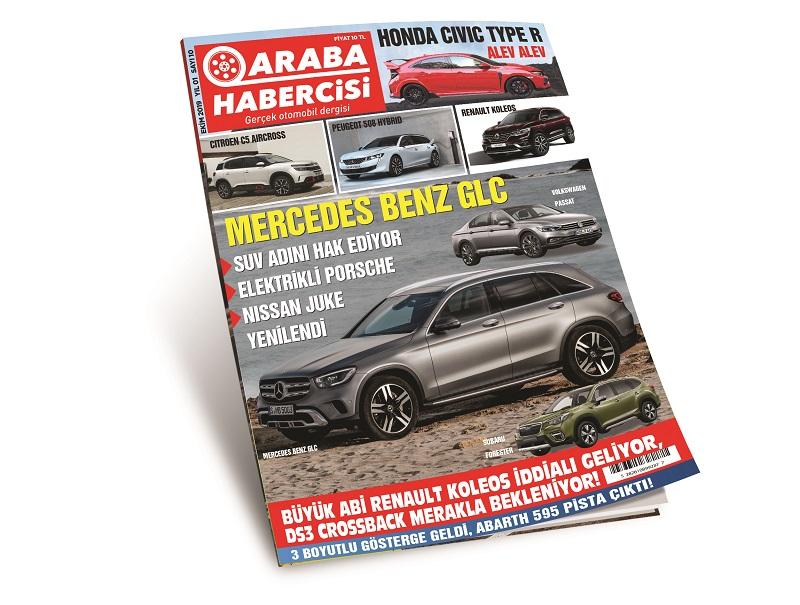 Araba Habercisi Dergisi Ekim Sayısı Dergilik