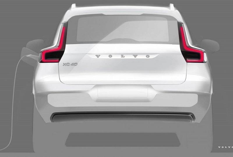 Elektrikli Volvo XC40 geliyor