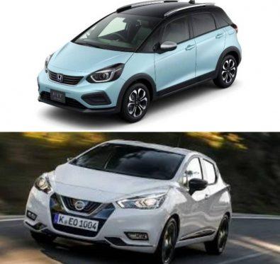 Honda Jazz Nissan Micra Karşılaştırma