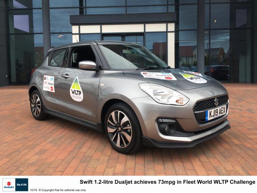 Suzuki SwiftWLTP Challenge sonucu.