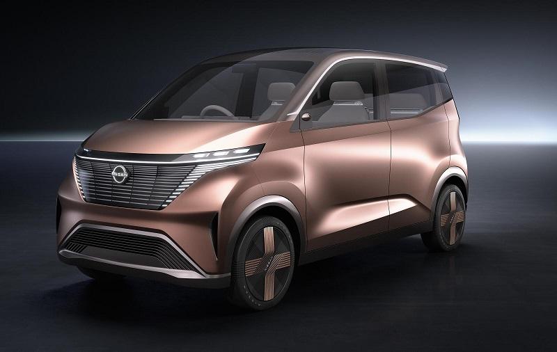 Tokyo Otomobil Fuarı NissanIMk