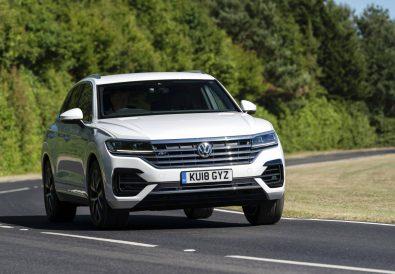 Volkswagen Touareg Test Etme Şansı.