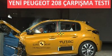 Yeni Peugeot 208 Crash Test