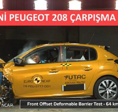Yeni Peugeot 208 Crash Test