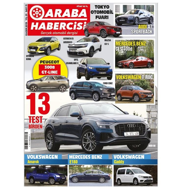 Araba Habercisi Turkcell Dergilik Sayıları