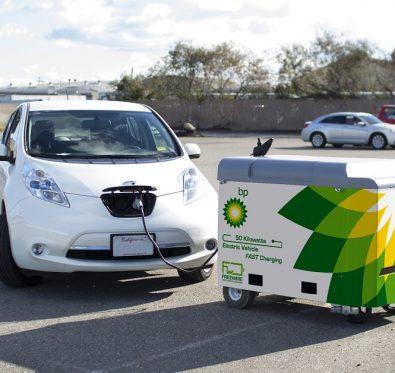 BP Elektrikli Otomobil Şarj İstasyonları