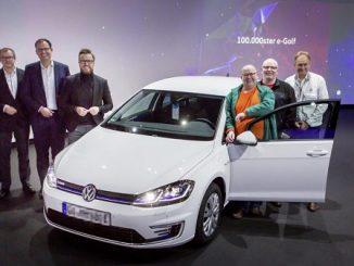 Elektrikli Volkswagen Golf 100000 Sattı