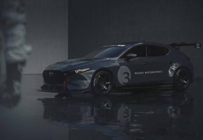 Mazda3 TCR Yarış Arabası Tanıtıldı.