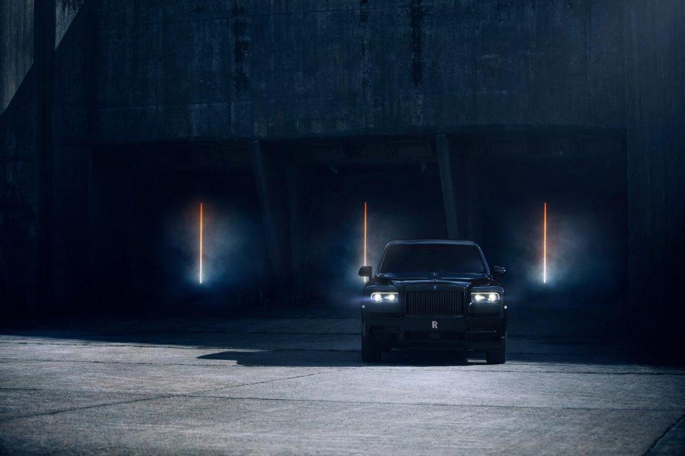 Rolls Royce CullinanBlack Badge.