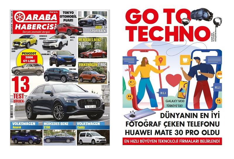 Turkcell Dergilik Araba Habercisi Kasım Sayısı