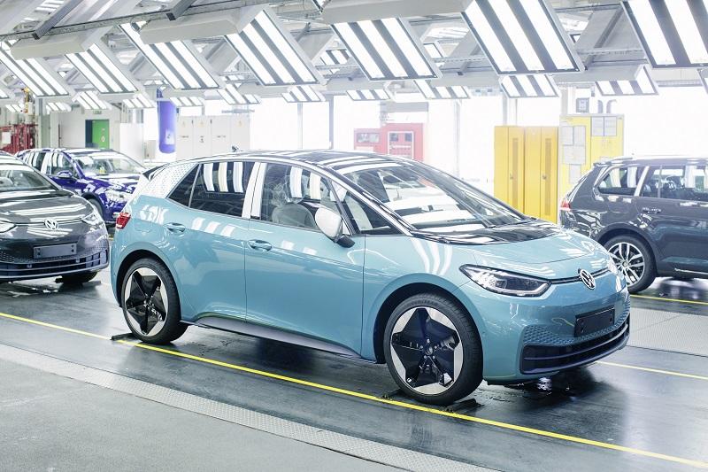 Volkswagen ID3 Üretimi Başladı!