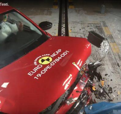 Yeni Opel Corsa Euro NCAP Testi