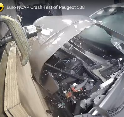 Yeni Peugeot 508 EuroNCAP Testi