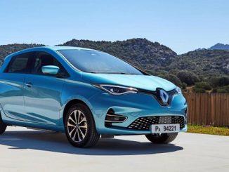 Yılın Elektrikli Otomobili Renault ZOE.