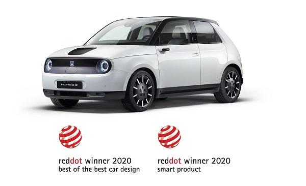 Honda E Red Dot 2020.