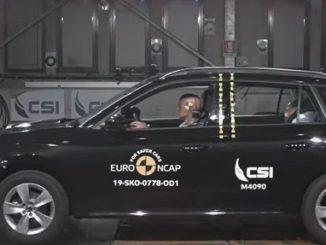 Skoda Kamiq Euro NCAP Testi.