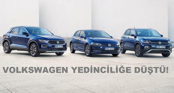 Araç Satış Rakamları 2020 Volkswagen.