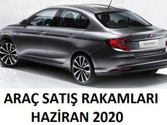 Araç Satış Rakamları Haziran 2020
