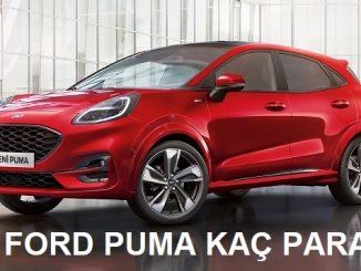 Ford Puma Fiyat Listesi.