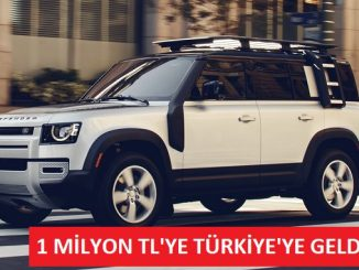 Yeni Land Rover Defender Fiyat