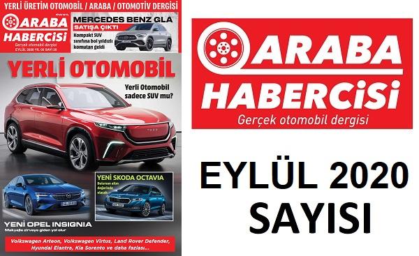 Araba Dergileri Araba Habercisi Eylül.