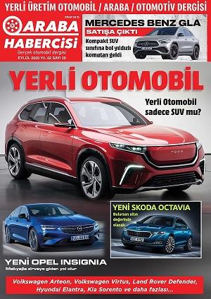 Araba Habercisi Dergisi Eylul 2020