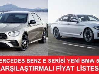 Mercedes E BMW 5 Fiyatları.