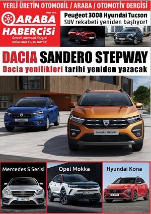 Araba habercisi dergisi ekim 2020