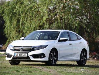 Honda Civic Sedan dizel otomatik testi.