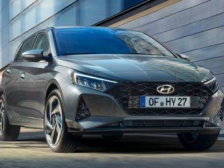 Hyundai i20 fiyat listesi Avrupa.