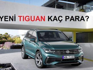 2020Volkswagen Tiguan Fiyat Listesi.