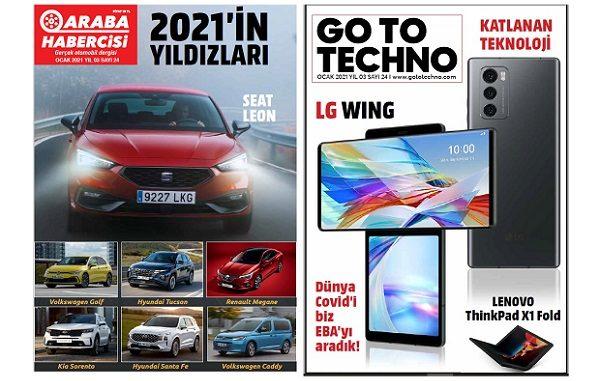 Araba Dergileri Ocak 2021