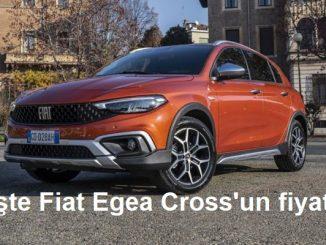Fiat Egea Cross fiyatı.