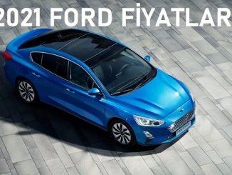 2021 Ford Focus fiyatları.