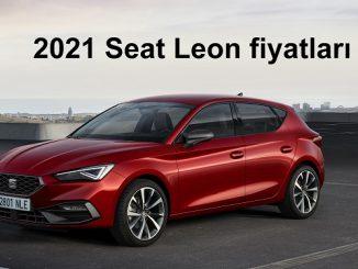 2021 Seat Leon fiyatları.