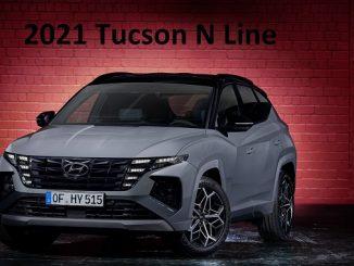 2021 Tucson N Line.