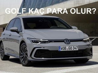 Golf 8 fiyat listesi.
