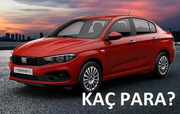 2021 Fiat Egea Sedan fiyatları.