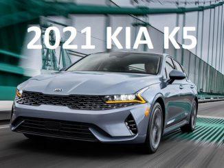 2021 Kia K5.