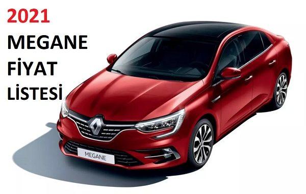2021 Renault Megane fiyat listesi