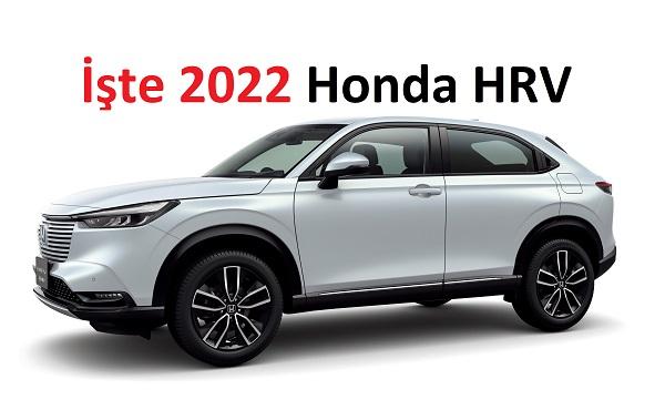 2022 Honda HRV.