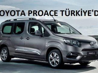 Toyota Proace City fiyatları.