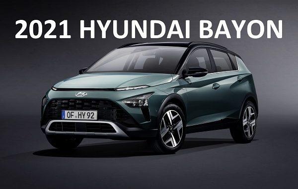 2021 Hyundai Bayon.