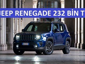 SUV kampanyaları Jeep Renegade.